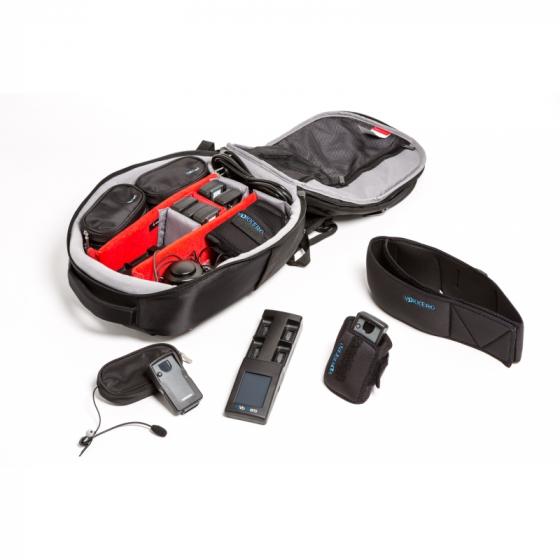 SQUADRA 4 to 8 users | Professional referee earphones kit - Vokkero