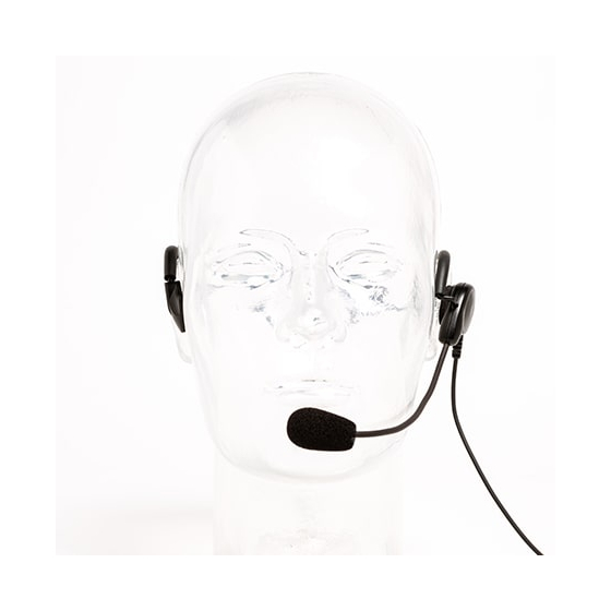 ADJUSTABLE BEHIND-THE-HEAD LIGHTWEIGHT HEADSET
