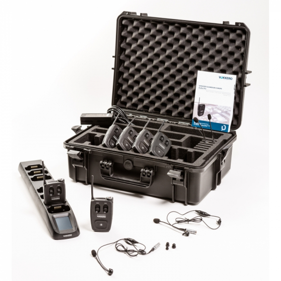 KIT AUDIO VOKKERO GUARDIAN STANDARD 2 à 4