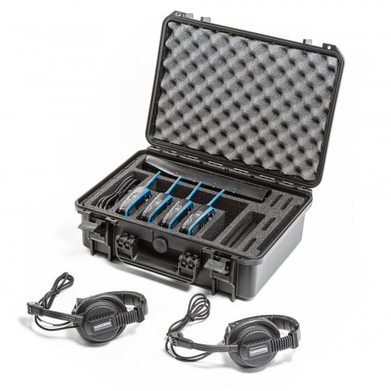 KIT GUARDIAN SHOW 2 à 4 | Intercom Full duplex sans-fil