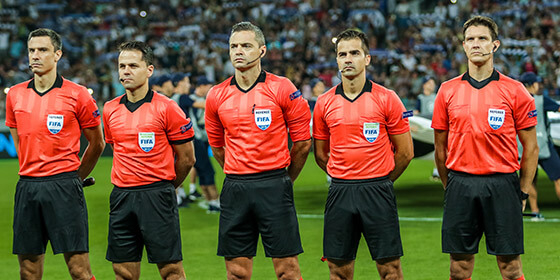 Referees and sports technical staff communication systems