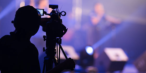 Events and audiovisual communication systems