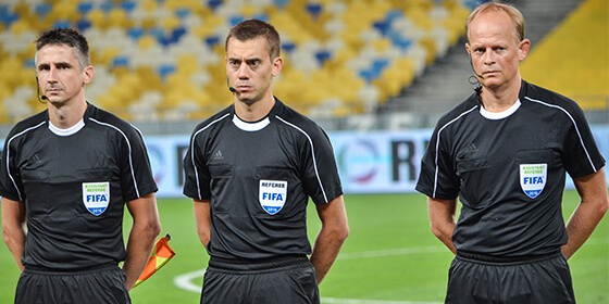 Referee communication system