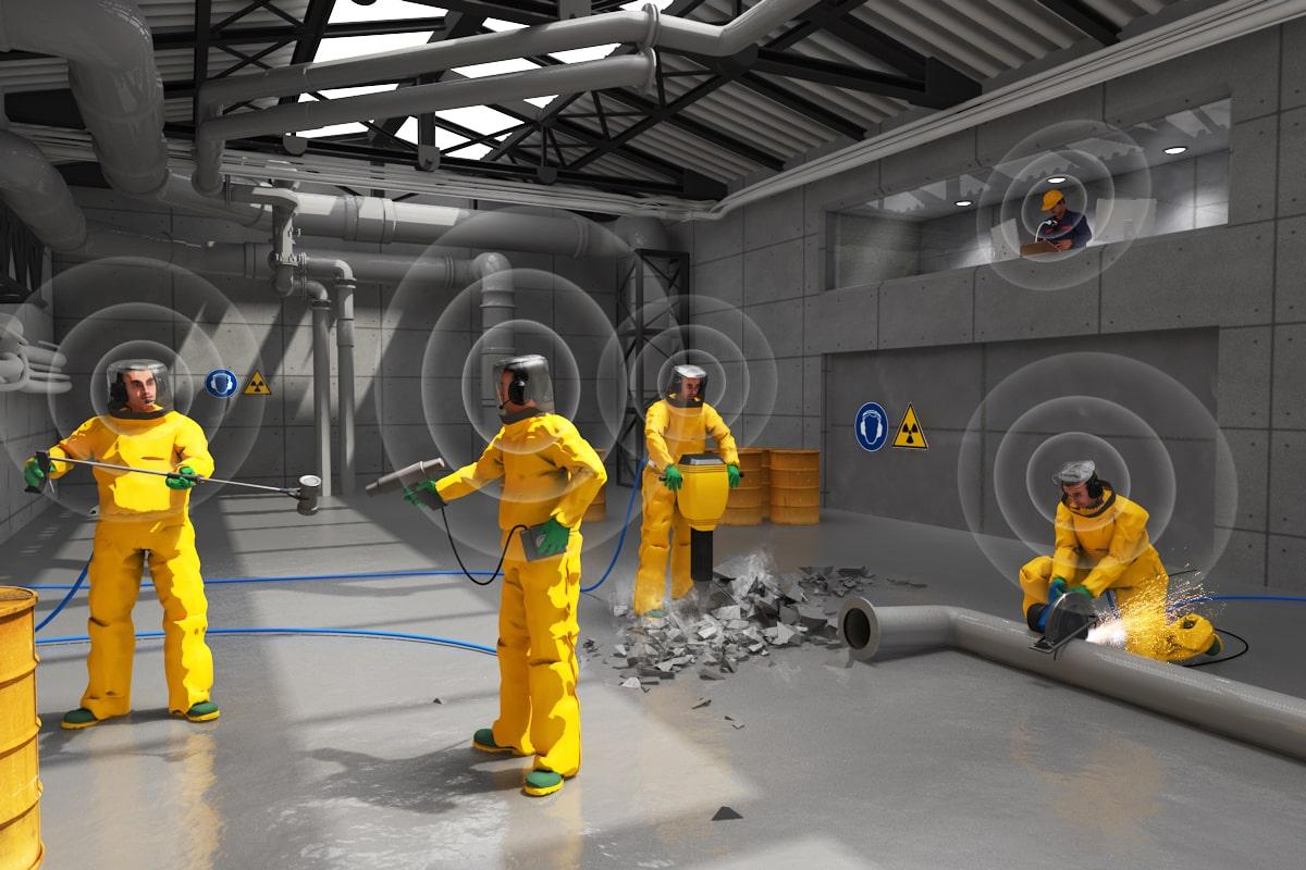 Radiocommunication professionnelle nucléaire vokkero