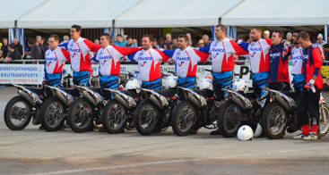 Vokkero provides the referees of the French Motorcycling Federation, the motobal