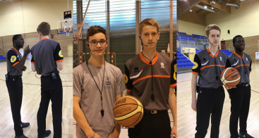 Vokkero participates in the training of Basketball young referees