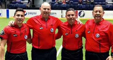 Vokkero equips the referees of the Major Arena Soccer League in the USA