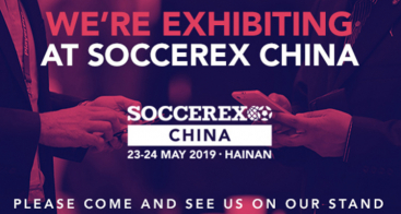 Vokkero participe au salon SOCCEREX CHINA 2019 !
