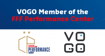 VOGO, member of the Performance Center of the French Football Federation (FFF)