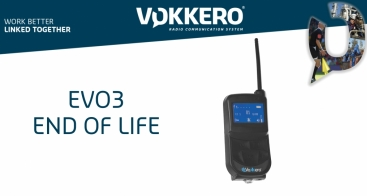 End of life: VOKKERO EVO3 product portfolio