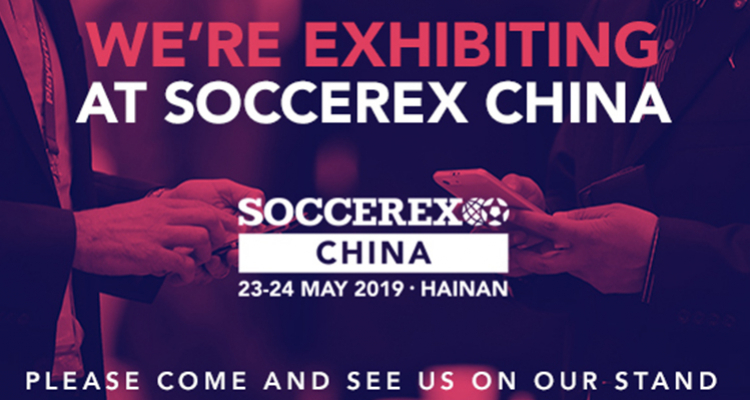 Meet us at SOCCEREX CHINA 2019!