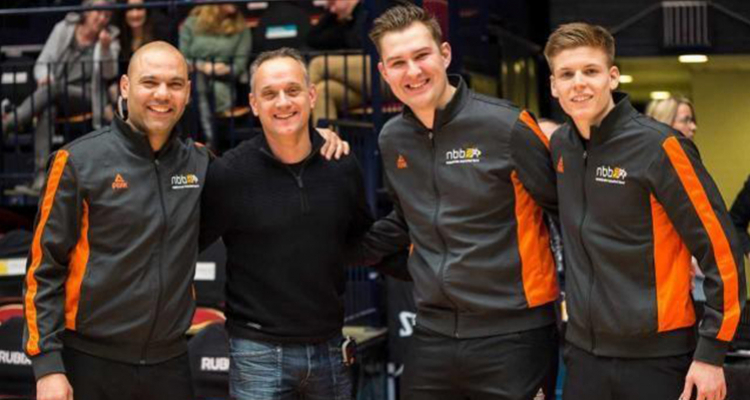 The basketball federation of the Netherlands, the NBB, adopts Squadra!